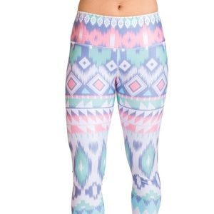 My Inner Fire Nomad Tribal/Boho Printed Leggings 6
